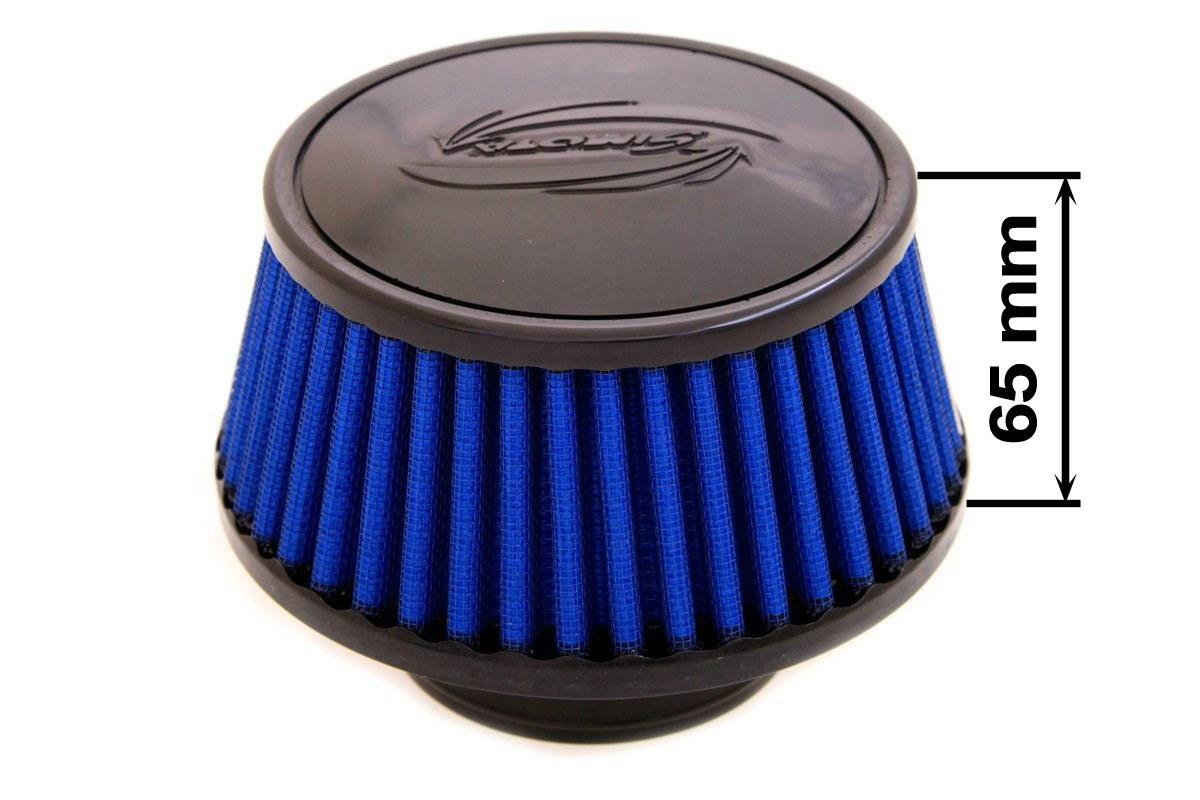 Filtr stożkowy SIMOTA JAU-X02201-20 60-77mm Blue - GRUBYGARAGE - Sklep Tuningowy